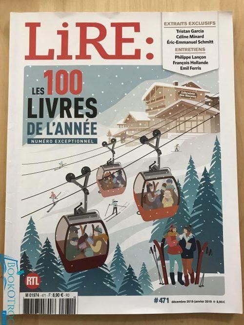 LIRE #471 Décembre 2018 - Janvier 2019