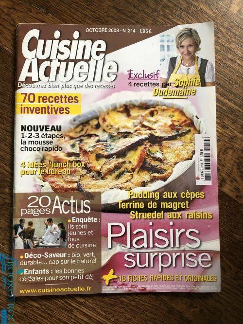 Cuisine Actuelle - Octobre 2008