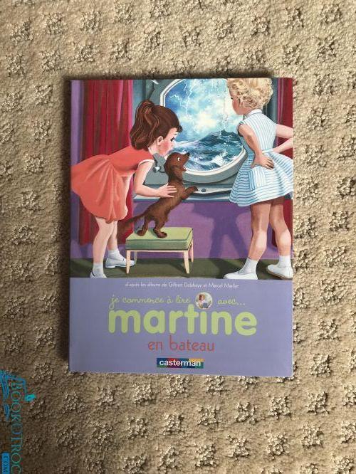 Je commence à lire avec Martine - en bateau