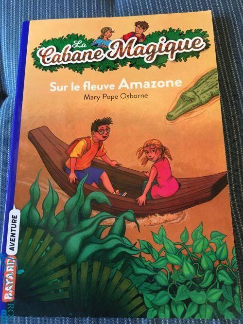 Sur le fleuve Amazone (Cabane Magique Volume 5)