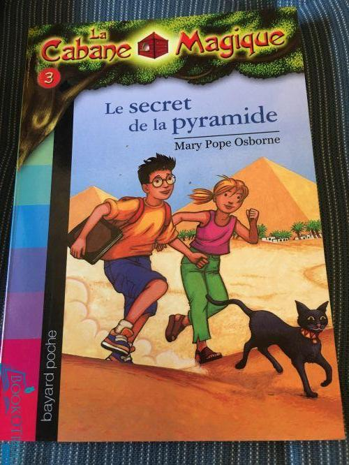 Le secret de la pyramide (Cabane Magique Volume 3)