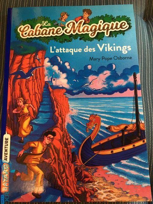 L'attaque des vikings (Cabane Magique Volume 10)