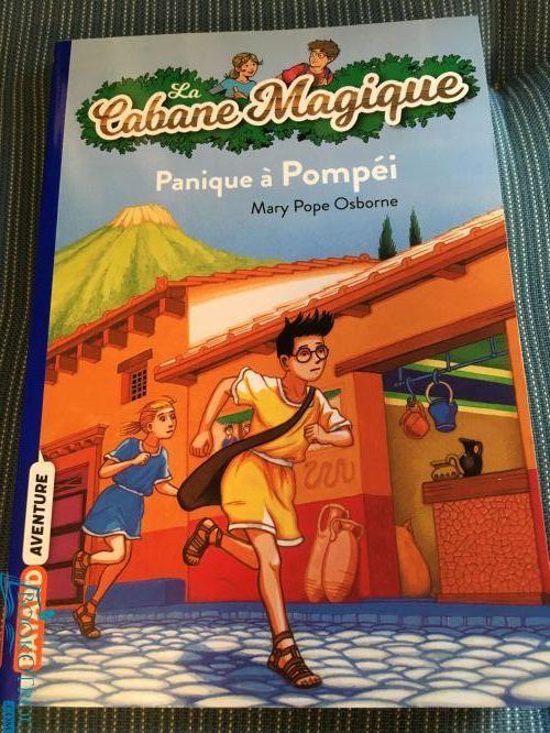 Panique à Pompéi (Cabane Magique Volume 8)