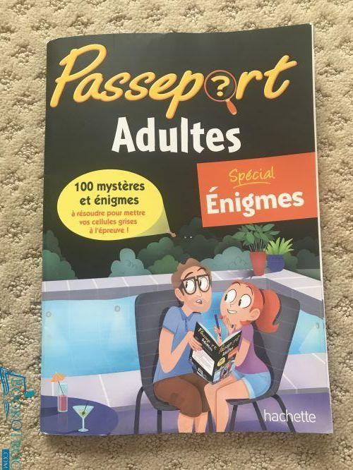 Passeports adultes - special énigmes