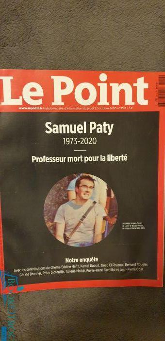 Le Point 22 Octobre 2020
