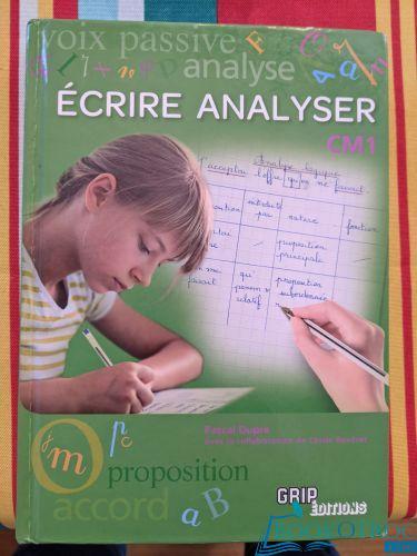 GRIP CM1 - Écrire Analyser