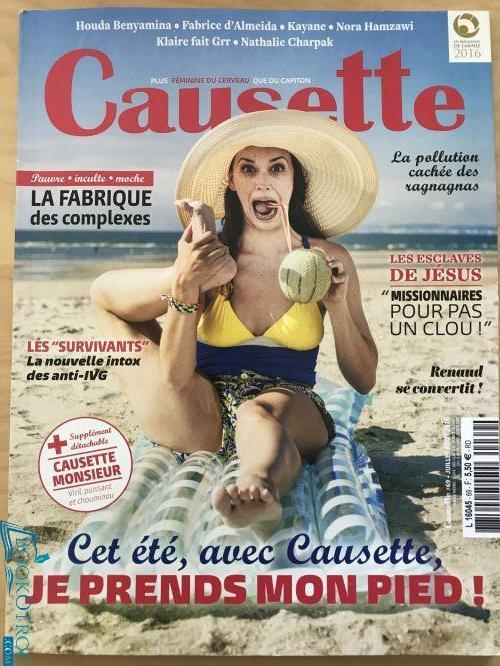 Causette - Juillet-Aout 2016