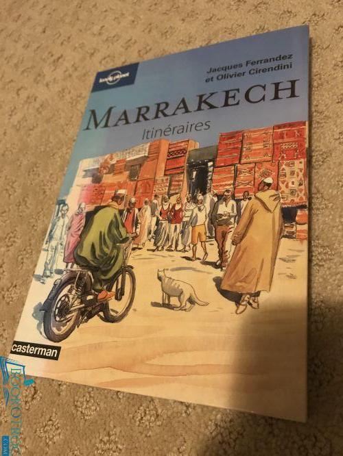 Marrakech - itinéraire