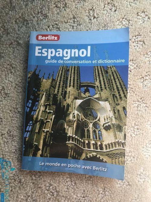 Espagnol - guide de conversation et dictionnaire