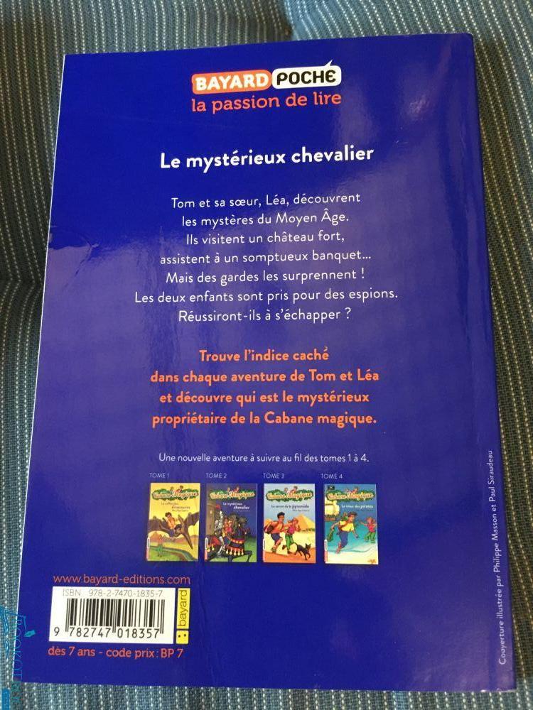 Le mystérieux chevalier (Cabane Magique Volume 2)
