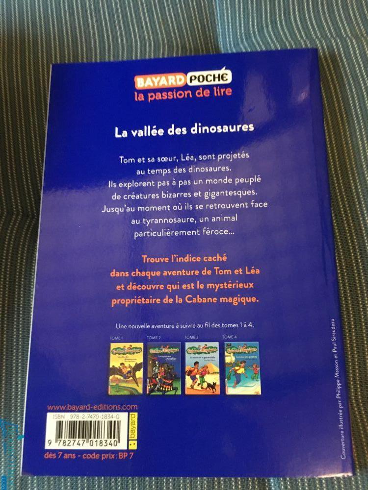 La vallée des dinosaures (Cabane Magique Volume 1)