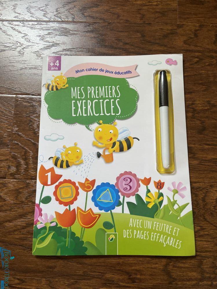 Mon cahier de jeux éducatifs : mes premiers exercices