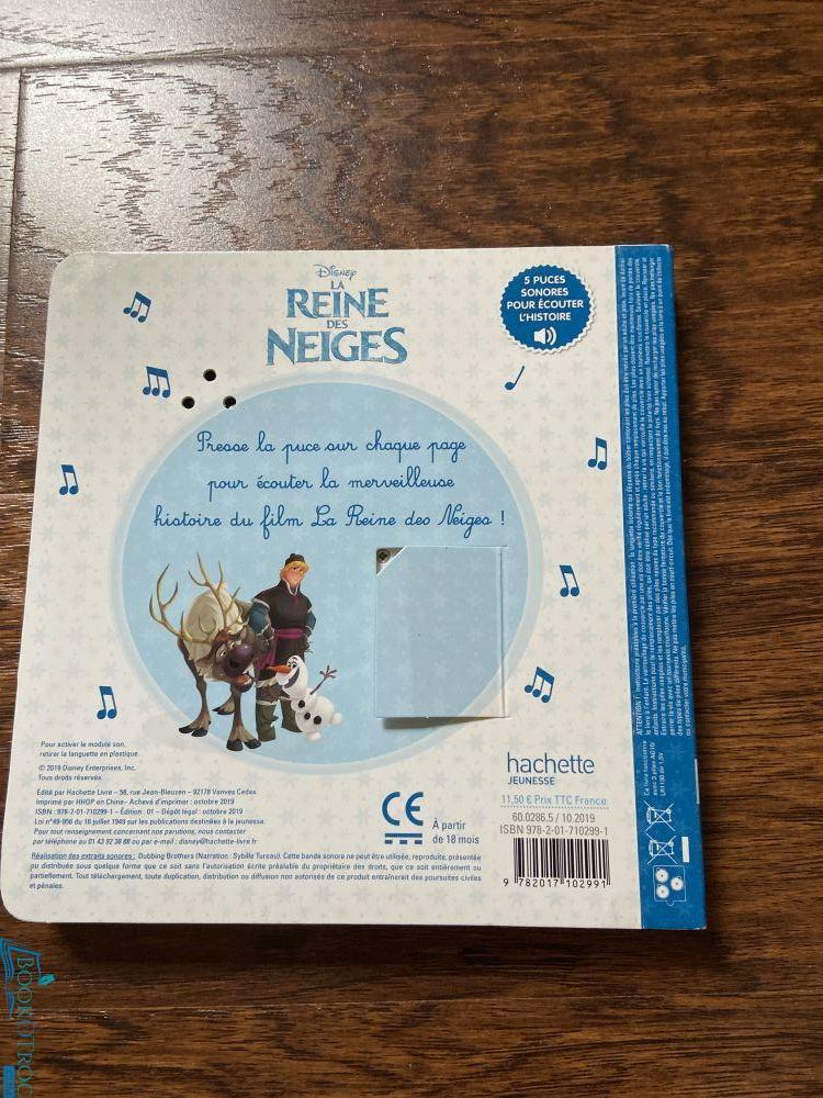La Reine des Neiges (Disney-Livre Sonore)