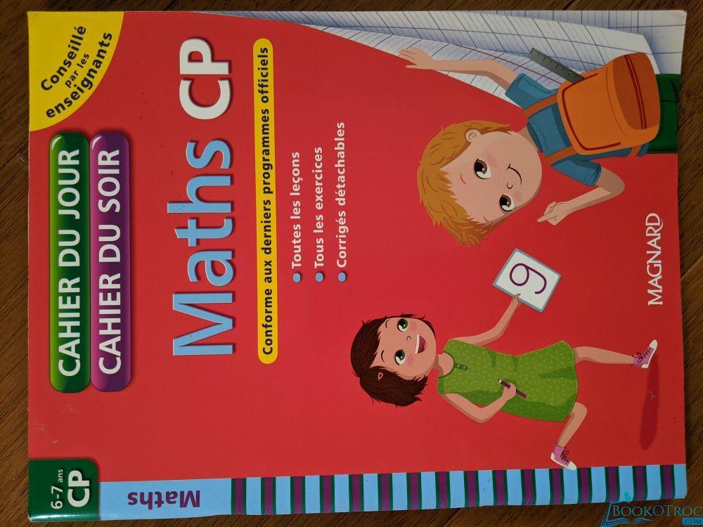 Maths CP - Cahier du Jour - Cahier du Soir