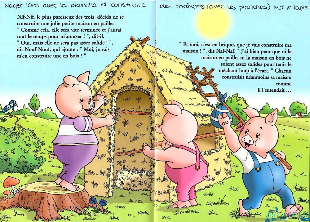 Raconte-moi : Les trois petits cochons