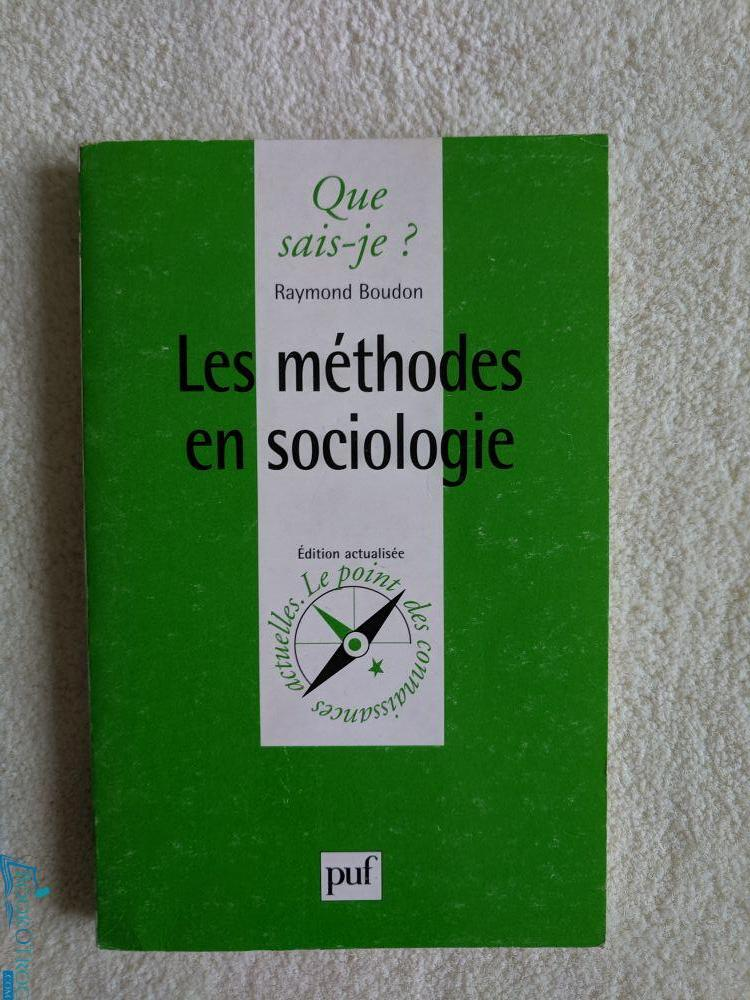 Les méthodes en sociologies